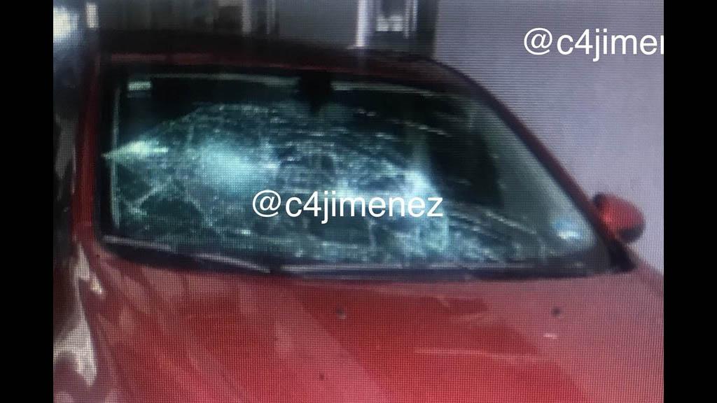 Mujer argentina daña coche de funcionaria de la PGJ capitalina - Mujer argentina daña auto PGJ funcionaria
