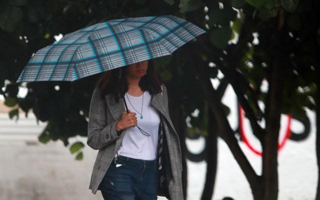 Amanecen con lluvia al menos cinco alcaldías de la Ciudad de México - lluvias