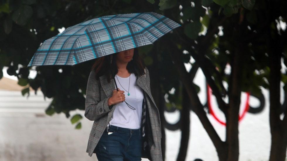 Prevén lluvias puntuales fuertes en el Valle de México - lluvias