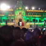 Ceremonia de conmemoración del 209 Aniversario del Inicio de la Gesta Histórica de Independencia - 90915163. México, 15 Sep 2019 (Notimex-Isaías Hernández).- Aspectos generales de la verbena popular en el Zócalo capitalino, previo al grito de independencia por parte del presidente Andrés Manuel López Obrador. Ciudad de México, 15 de septiembre de 2019. NOTIMEX/FOTO/ISAÍAS HERNÁNDEZ/IHH/HUM/