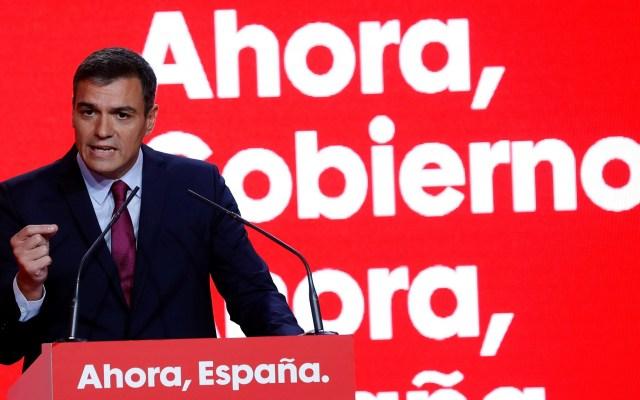 Pedro Sánchez ofrece estabilidad a España rumbo a elecciones - Pedro Sánchez rumbo a elecciones del 10 de noviembre. Foto de EFE