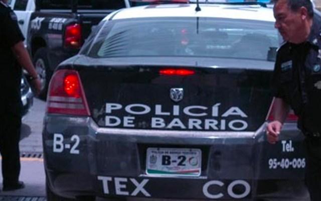 Rescatan a presunto delincuente de ser linchado en Texcoco - Policía Texcoco.