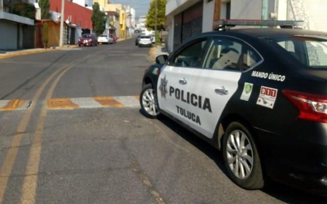 Aseguran a cinco asaltantes tras enfrentamiento en Toluca - Foto de @PoliciaToluca