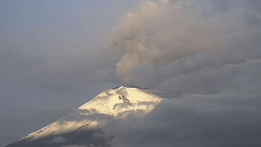Popocatépetl registra 169 exhalaciones en 24 horas - popocatepetl
