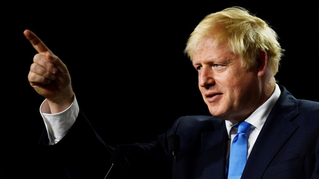 Johnson amenaza con despedir a parlamentarios si no lo apoyan en Brexit - Primer ministro Boris Johnson. Foto de EFE