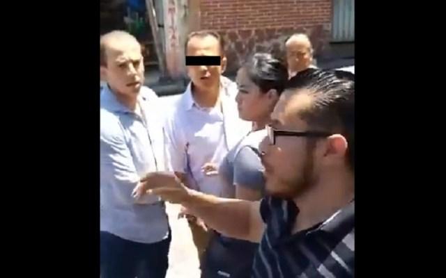 #Video Detienen al primo de 'El Carrete' en Amacuzac - Detención del primo de El Carrete en Amacuzac. Captura de pantalla