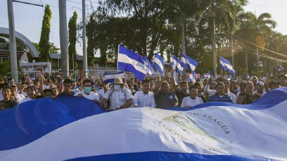 Líder campesino pide a estudiantes sumarse a coalición opositora en Nicaragua - Protestas en Nicaragua. Foto de EFE / Archivo