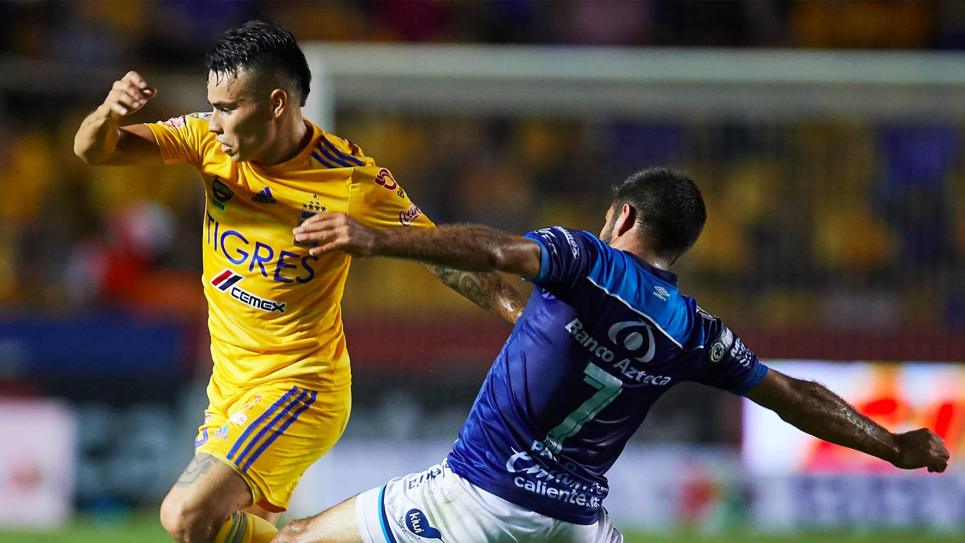 Puebla Tigres partido Liga MX 3