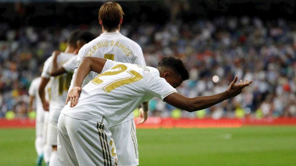 Real Madrid vence al Osasuna y se perfila para enfrentar al Atlético - Real Madrid Osasuna partido