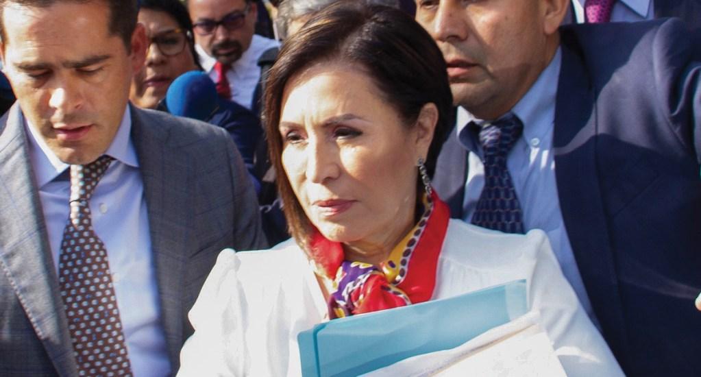 Cuentas bancarias de Rosario Robles seguirán bloqueadas; tribunal niega amparo para liberarlas - Rosario Robles, extitular de la Secretaría de Desarrollo Social. Foto de EFE