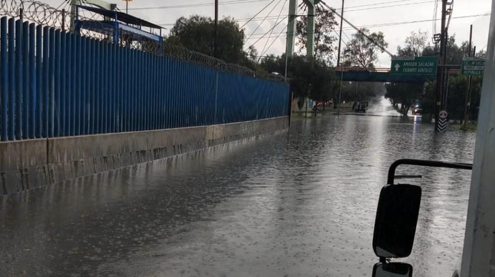 Lluvias provocan inundaciones en la Ciudad de México - Sacmex inundaciones Ciudad de México lluvias