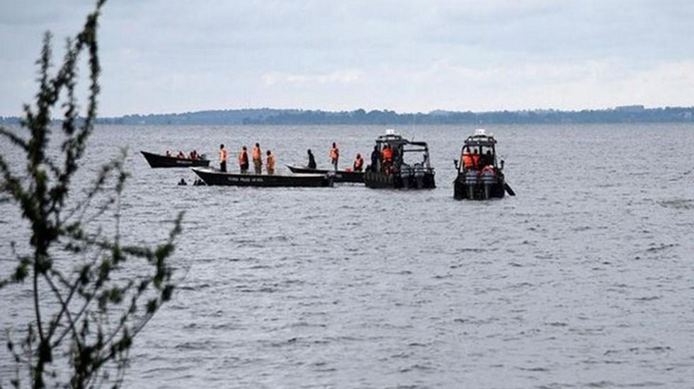 Naufragio en el río Congo deja 36 personas desaparecidas - Servicios de rescate en río de la República Democrática del Congo. Foto de ANI