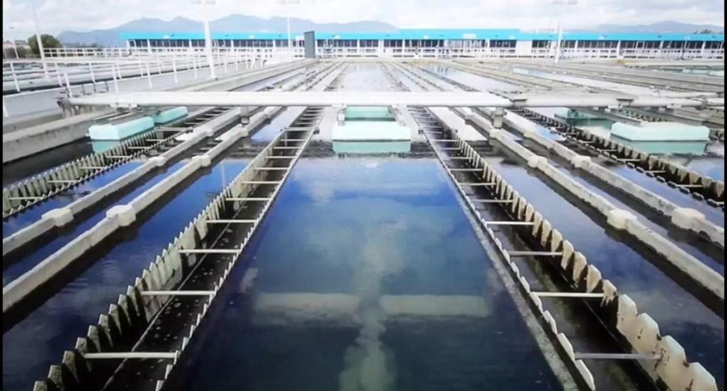 Reducirán suministro de agua a la CDMX y Edomex - Sistema Cutzamala. Foto de @bjc_agua
