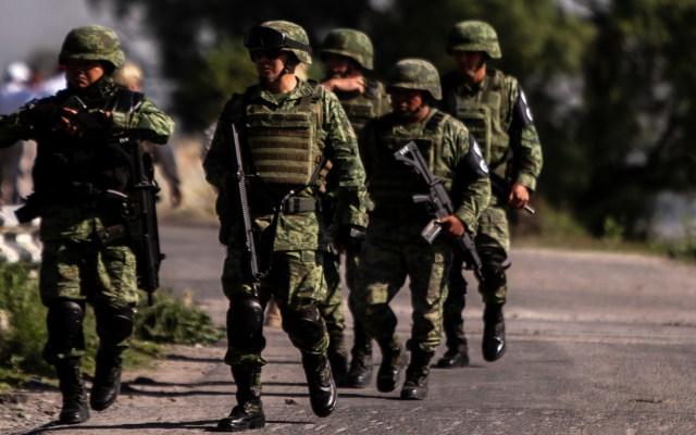 AMLO envía condolencias a familiares de militares emboscados en Guerrero - Soldados de México. Foto de Notimex
