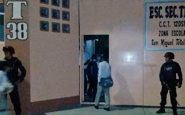 Ejército vigilará regreso a clases en Tierra Caliente de Guerrero - SSP Guerrero escuelas operativo