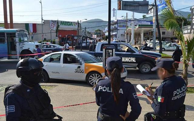 Asesinan a dos taxistas en Acapulco - taxistas asesinados acapulco