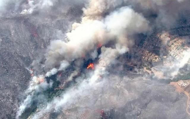 California espera controlar el incendio forestal Tenaja el martes - incendio forestal tenaja california