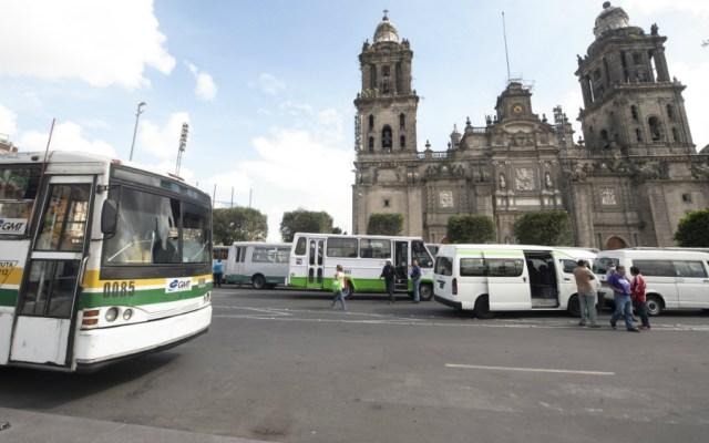 No habrá aumento de tarifas: Sheinbaum a microbuseros - Foto de Notimex