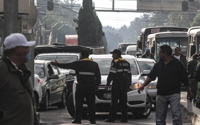 Tránsito en México cuesta 94 mil millones de pesos al año - Tránsito en la Ciudad de México. Foto de Notimex