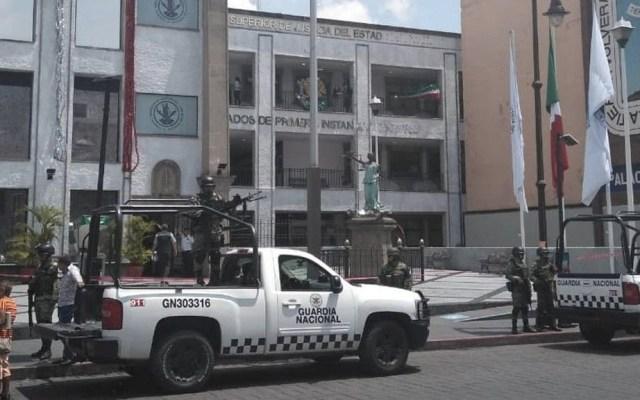Desalojan Tribunal Superior de Justicia de Morelos por amenaza de bomba - Tribunal Morelos amenaza de bomba
