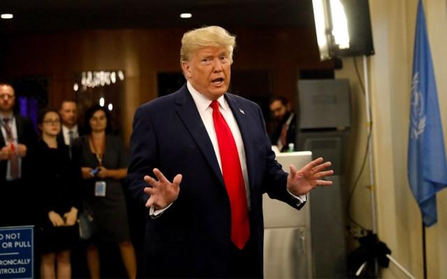 Funcionario del Departamento del Tesoro intentó interferir con declaraciones de impuestos de Trump: WP - Donald Trump llega por sorpresa a la cumbre climática de la ONU