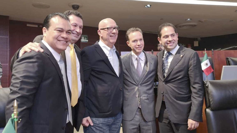 Se reincorpora Manuel Velasco al Senado - Manuel velasco senado