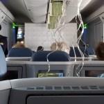 Terror en vuelo de Delta al caer repentinamente 30 mil pies