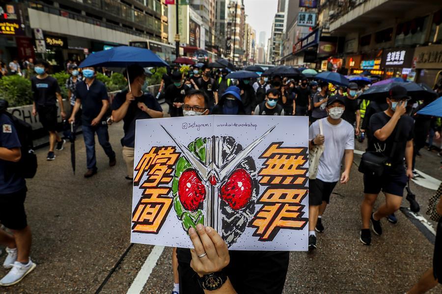 manifestaciones hong kong