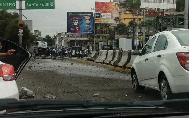 Accidente vehicular en Santa Fe deja 15 lesionados - Accidente Santa Fe heridos revolvedora 4
