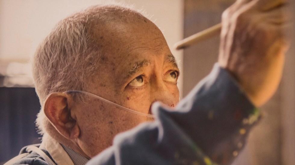 Murió el artista plástico Gilberto Aceves Navarro - Gilberto Aceves Navarro. Foto de Notimex