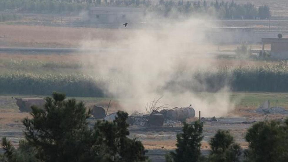 Afectaciones en Siria por ataques de cazas turcos. Foto de @cnnturk