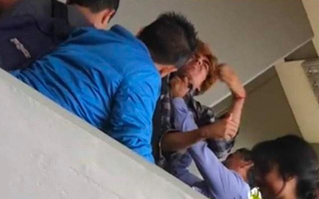 FES Acatlán separa a funcionario que intentó ahorcar a estudiante - Funcionario intenta ahorcar a estudiante