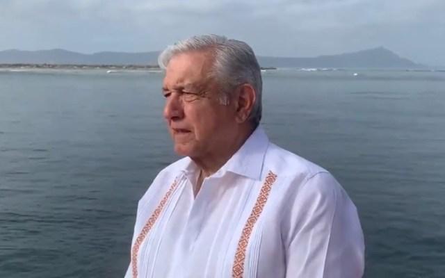 López Obrador lamenta la muerte del padre de Marcelo Ebrard - Captura de pantalla