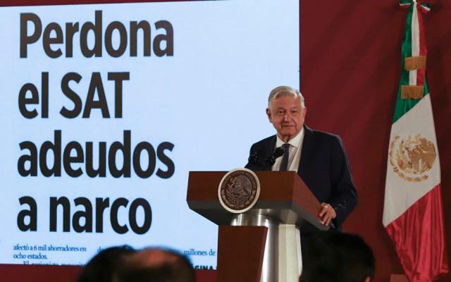 AMLO niega condonación de impuestos a delincuencia organizada - López Obrador