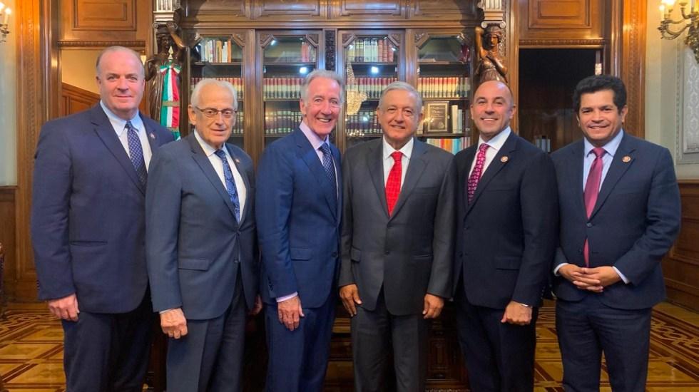 Delegación de EE.UU. se reunió con trabajadores mexicanos durante visita al país - López Obrador se reúne con congresistas de Estados Unidos