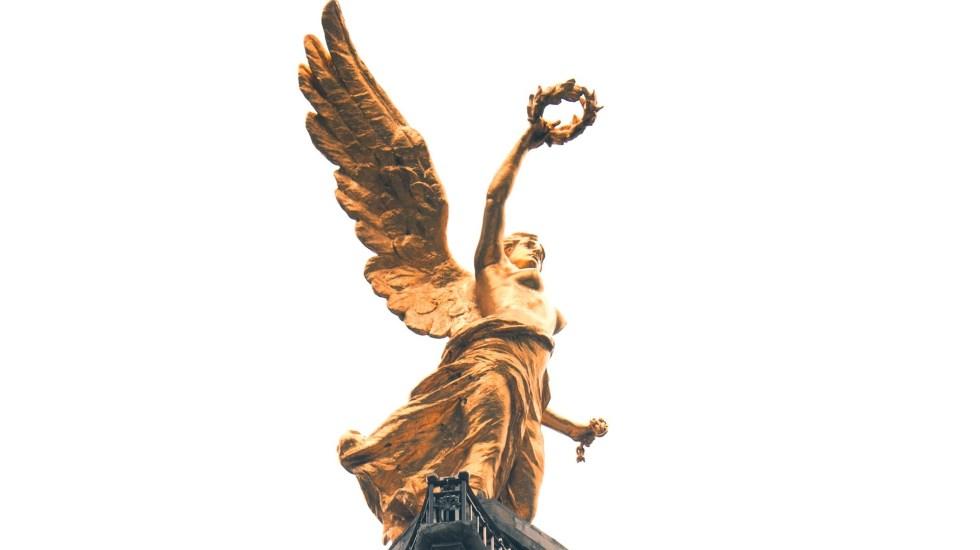 Retiran andamios del Ángel de la Independencia - Ángel de la Independencia en la Ciudad de México. Foto de Miguel Andrade / Unsplash