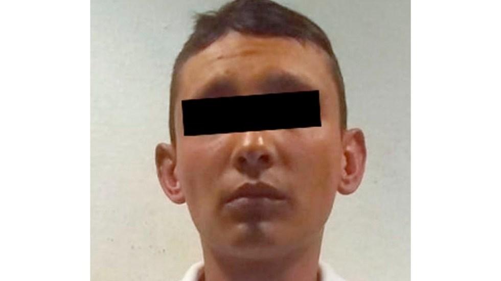 Detienen a sujeto relacionado con 40 robos a negocio en Edomex - Detienen a presunto asaltante tras persecución en el Estado de México