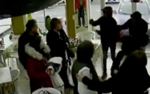 #Video Asaltan taquería en el Estado de México - Asalto taquería Estado de México
