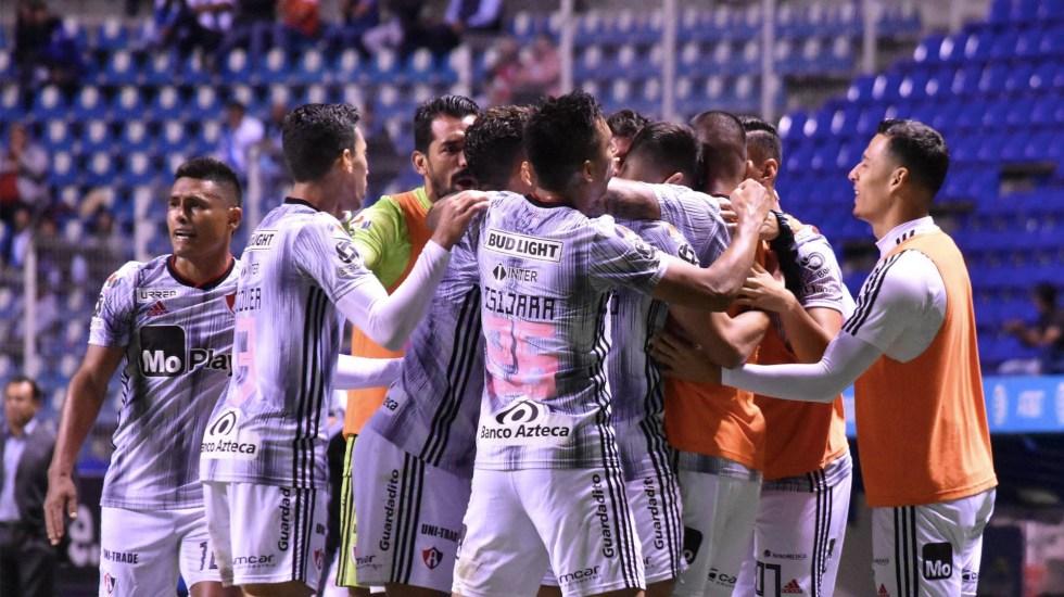 Atlas vence por la mínima a Puebla y se cuela a zona de Liguilla - Atlas partido Puebla