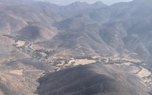 Liquidados al 100 por ciento principales incendios en Baja California - Baja California Incendios México