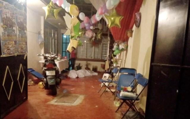 Ataque contra familia en Iztapalapa deja dos muertos y ocho heridos - Balacera contra familia en Iztapalapa deja dos muertos y ocho heridos