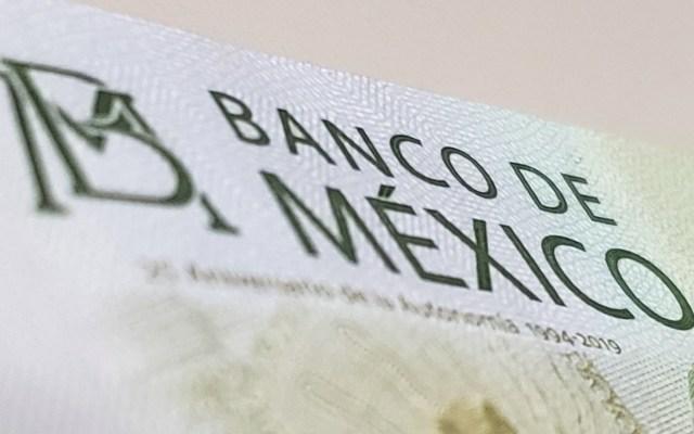 Banca mexicana se declara lista ante las consecuencias del coronavirus - Banco de México dinero billete