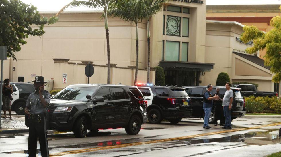 Tiroteo en Florida deja al menos un herido - Los hechos en Boca Ratón, Florida. Foto de SunSentinel