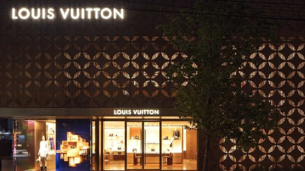 Así quedó la boutique Louis Vuitton en Polanco tras robo - Boutique de Louis Vuitton en Polanco, CDMX. Foto de Louis Vuitton México Masaryk