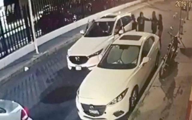 #Video Roban camioneta con violencia en Iztacalco - camioneta iztacalco