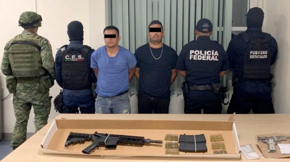 """Detienen a dos presuntos sicarios de """"Gente Nueva"""" en Chihuahua - Detienen a dos presuntos sicarios de """"Gente Nueva"""" en Chihuahua"""