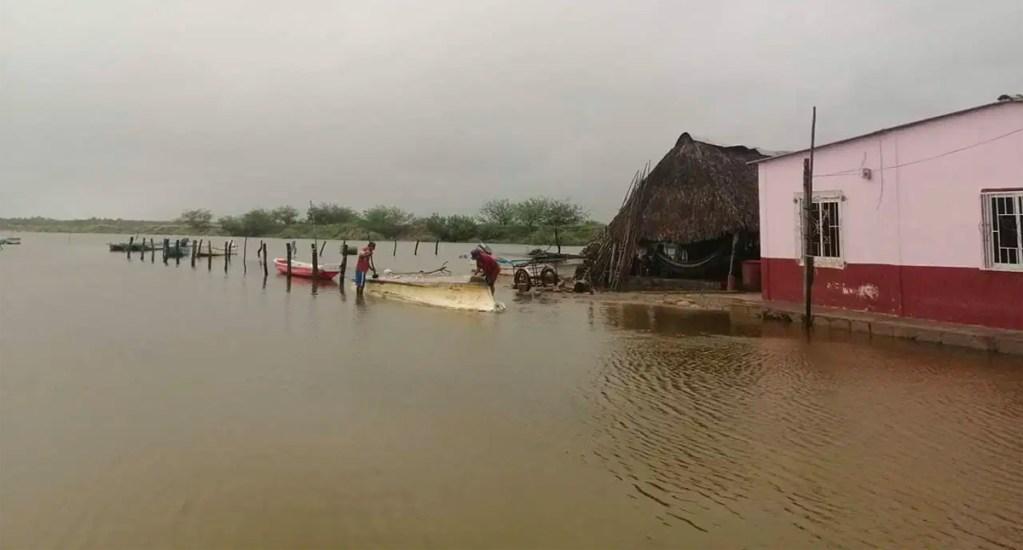 Aprueban declaratoria de emergencia para 12 municipios de Oaxaca por ciclón - Ciclón 17-E golpea Oaxaca
