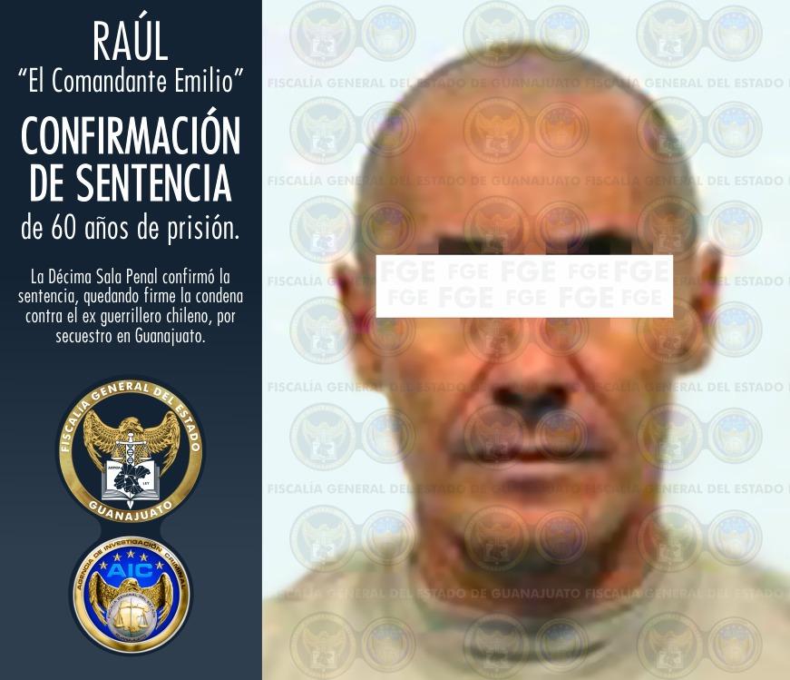 """""""Comandante Emilio"""", Foto de FGE Guanajuato."""