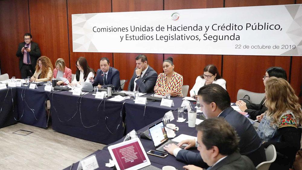 Inician comisiones del Senado análisis de minuta de Ley de Ingresos - Ley de Ingresos