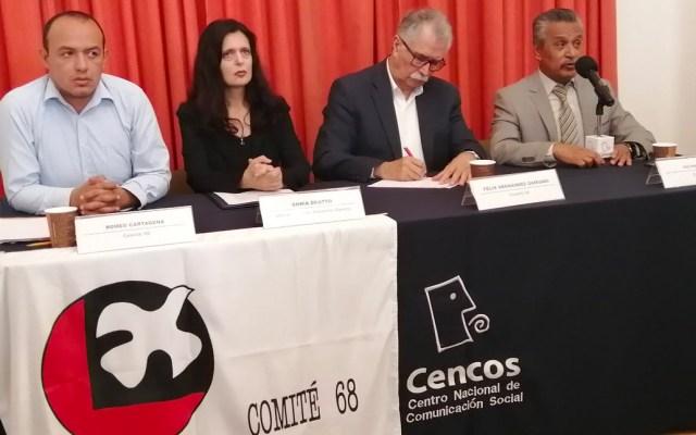 Comité 68 exhorta a AMLO a crear fiscalía por masacre del 2 de octubre - Comité 68